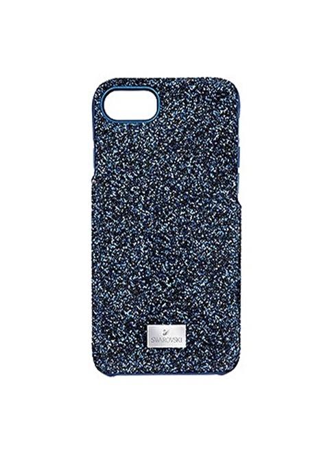 Swarovski Cep Telefonu Kılıfı Mavi